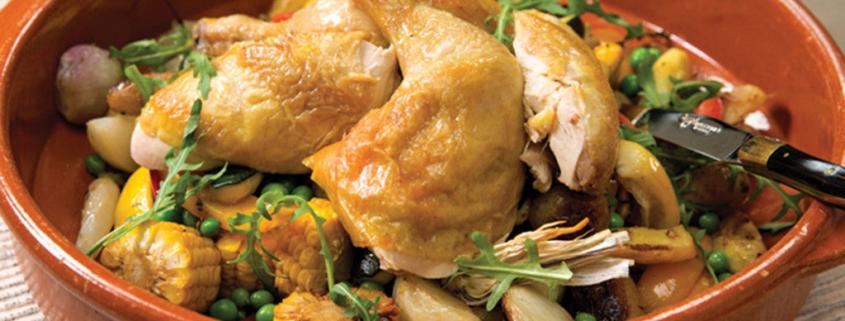 Farm-Fresh Chicken with White Beer