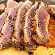 Lane's BBQ Seared Ahi Tuna Steak