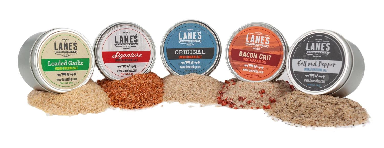 Lane's BBQ Smoked Finishing Salts
