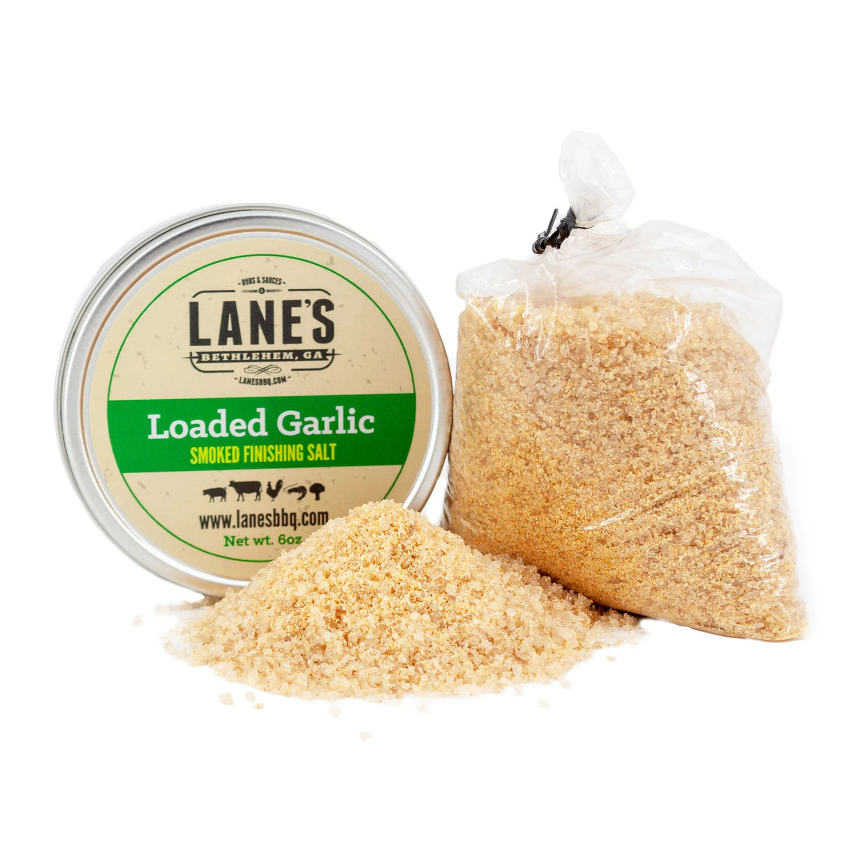Loaded Garlic Smoked Finishing Salt