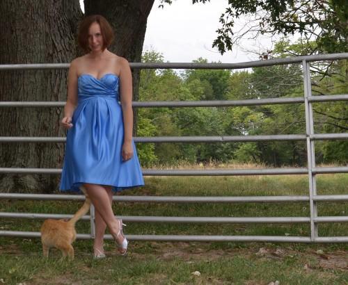 My bridesmaid dress