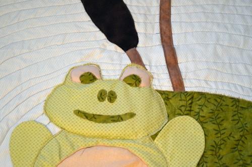 frog quilt