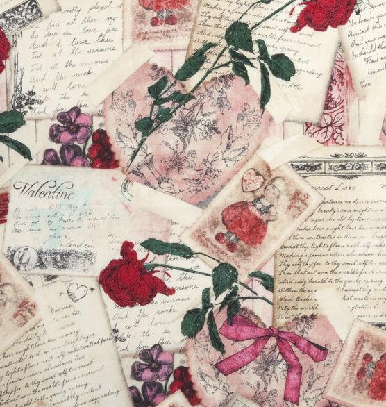 Vintage Valentine Fabric