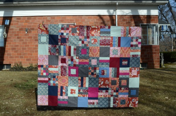 His and Hers Quilt Top