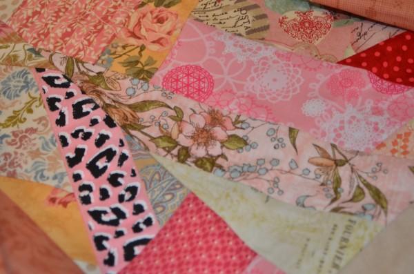 valentine quilt closeup