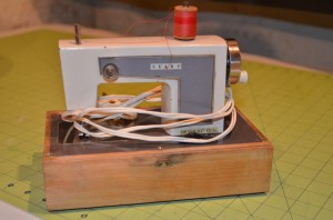 mini sears sewing machine