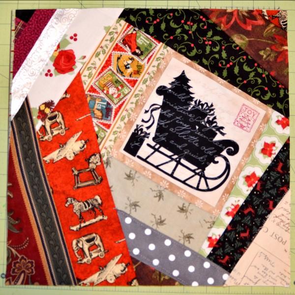Christmas quilt block #2