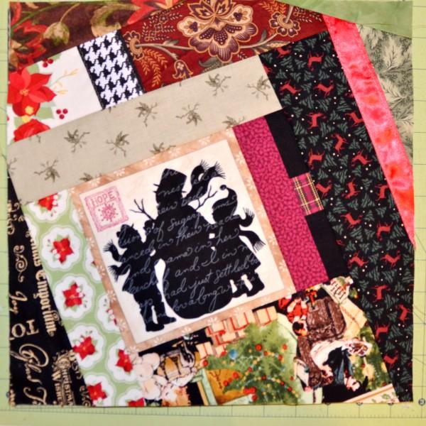 Christmas quilt block #3