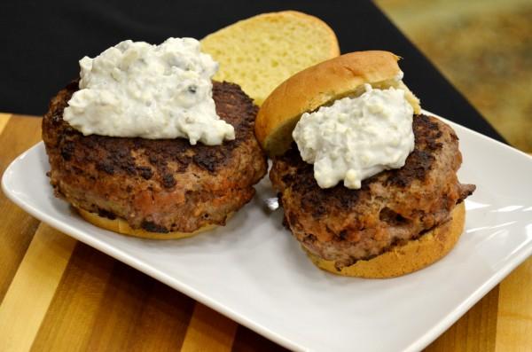 bleu cheese burgers