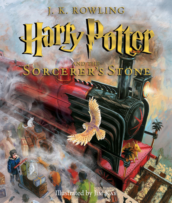 cover of illustrated HP