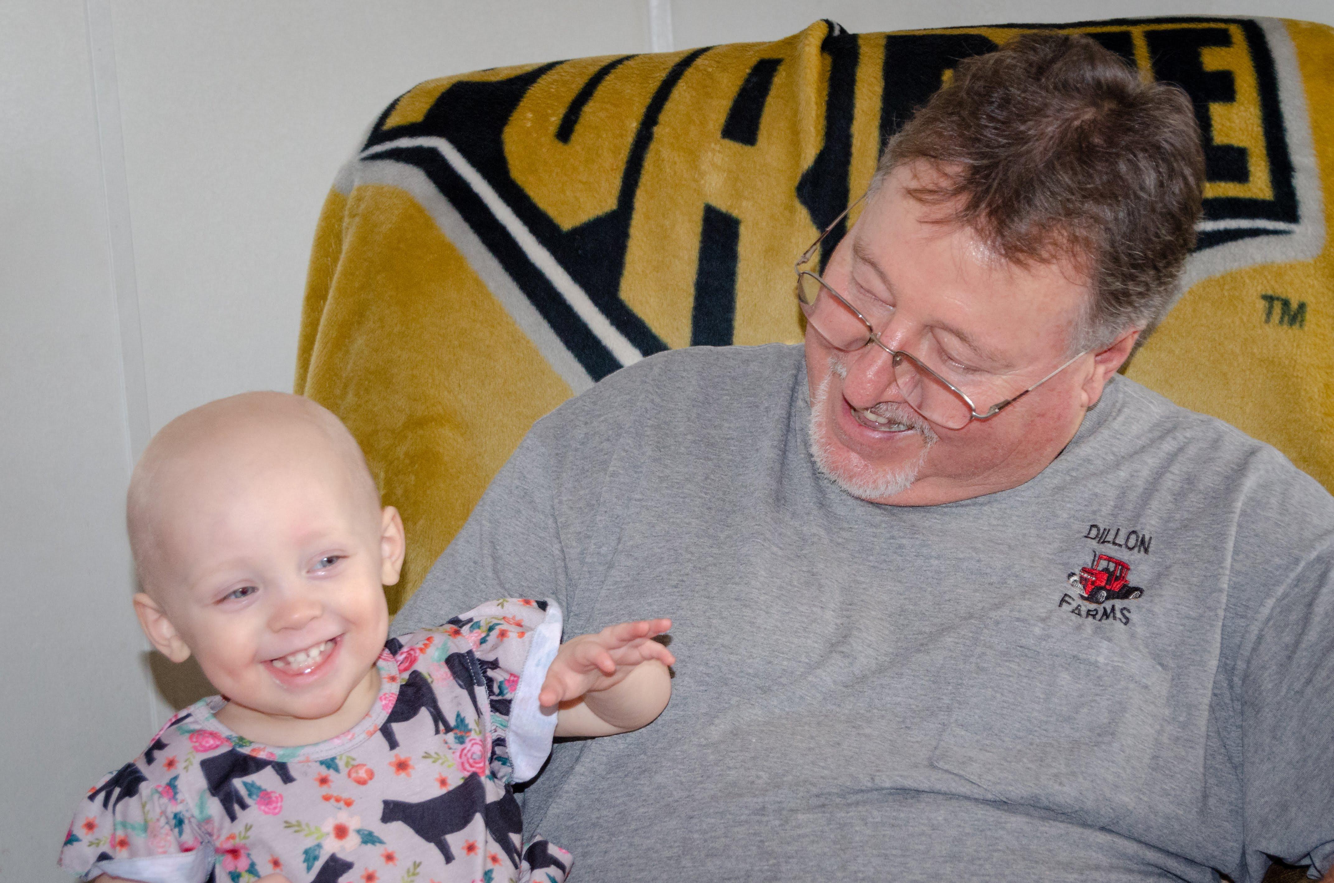 Milli & Grandpa Dillon