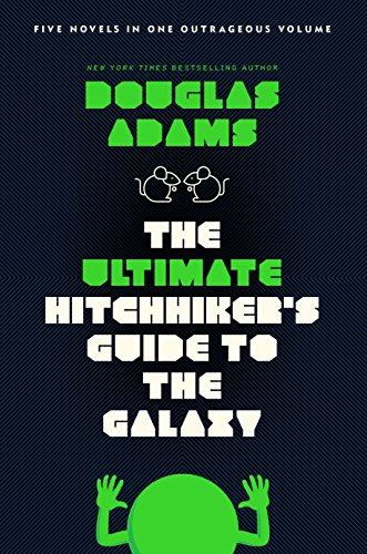 ultimate hitchhikers guide to the galaxy book cover