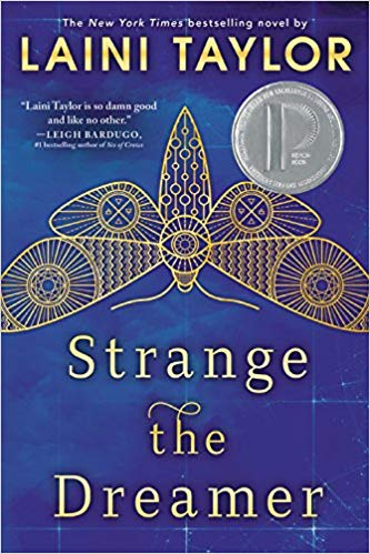 strange the dreamer book cover