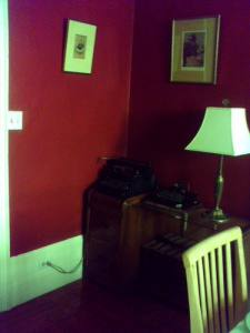 The dining room corner