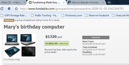 Mary's birthday computer - Google Chrome 1232009 120433 AM