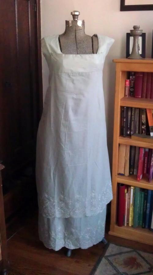 bib-front dress