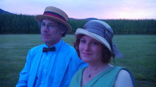 Rob and Mary at Steve and Jamie's wedding