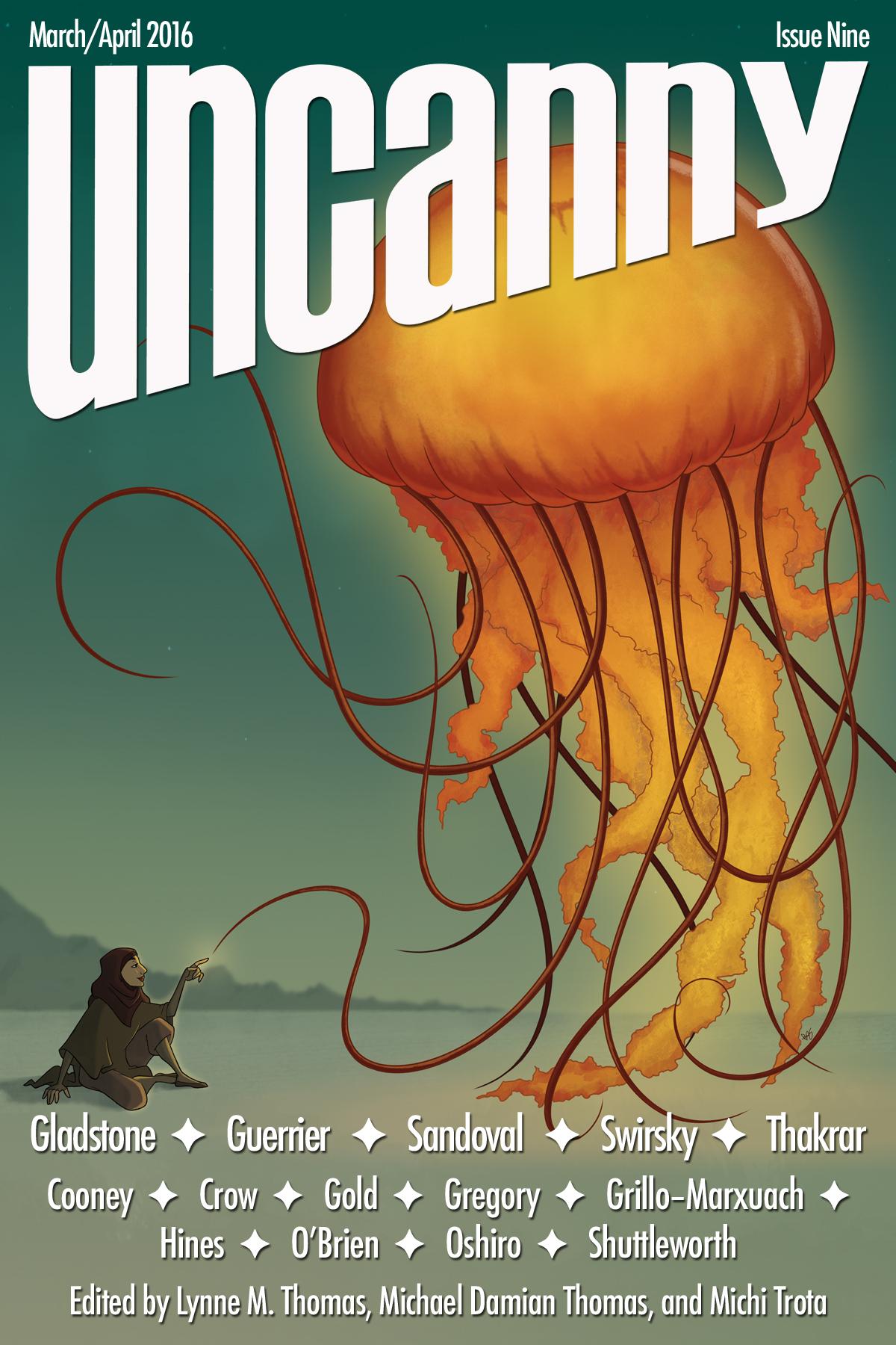 Uncanny Magazine Issue Nine cover