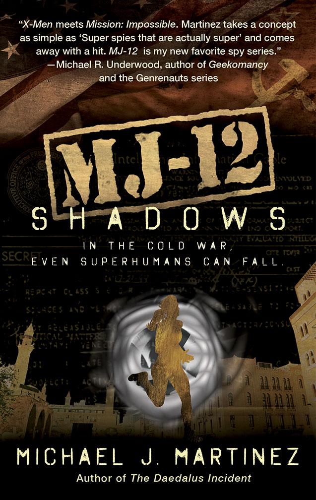 MJ-12: Shadows cover image
