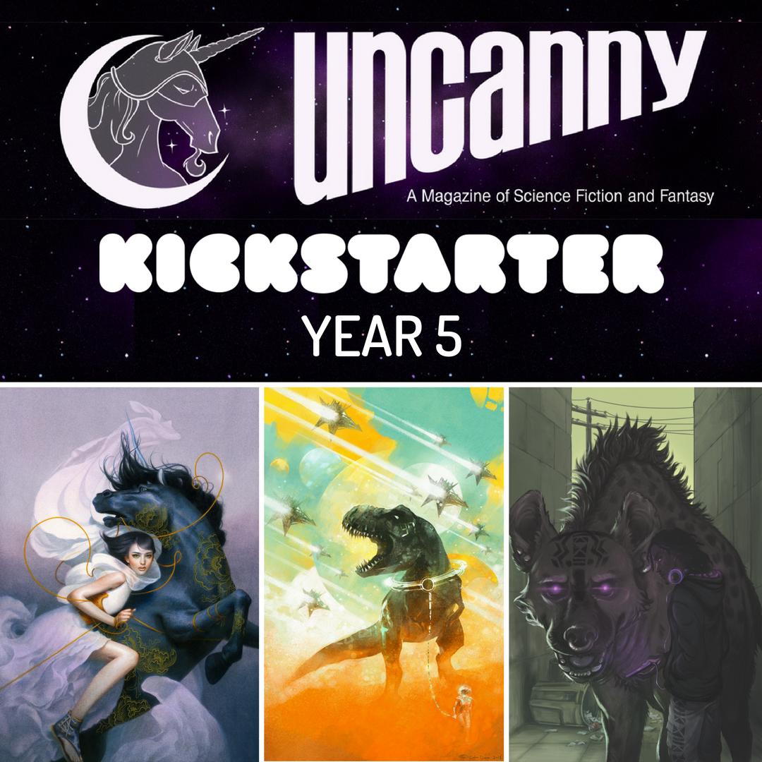 Uncanny kickstarter year 5