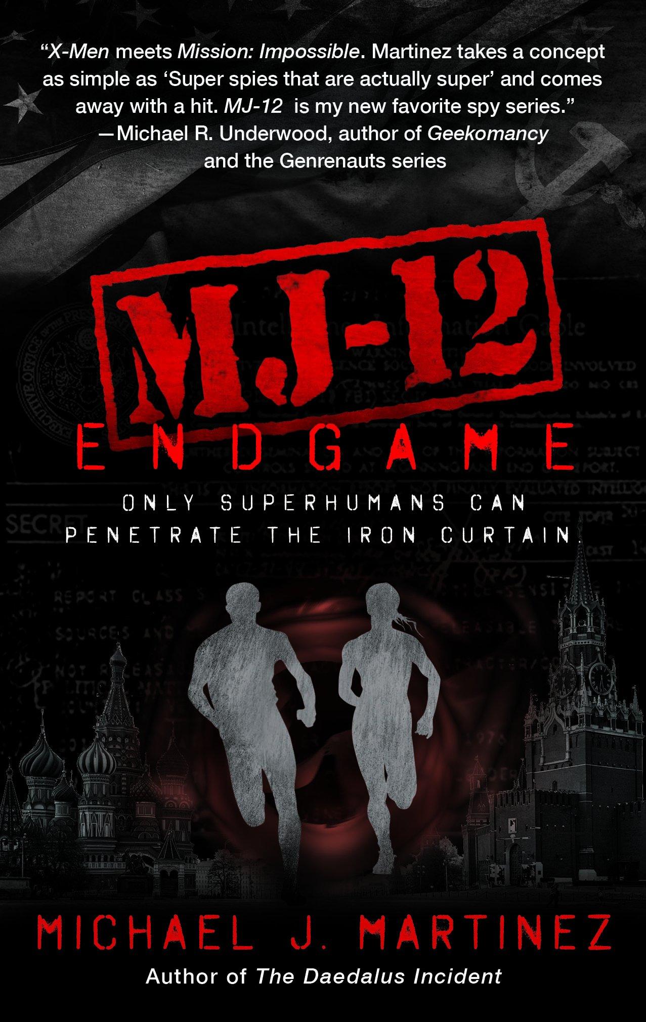 MJ-12: Endgame Cover Image