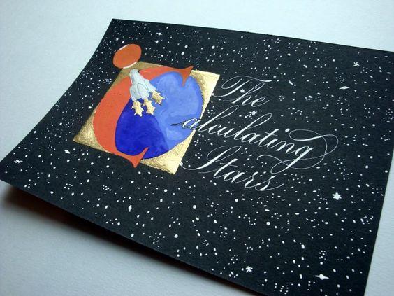 The Calculating Star illuminated title