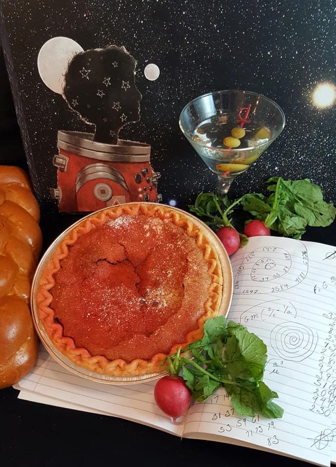 Lady Astronaut pie