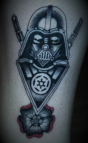 Star Wars Tattoos at Crossroads Tattoo Studio in Denison, TX