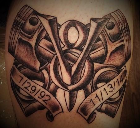 Custom Tattoos at Crossroads Tattoo Studio in Denison, TX
