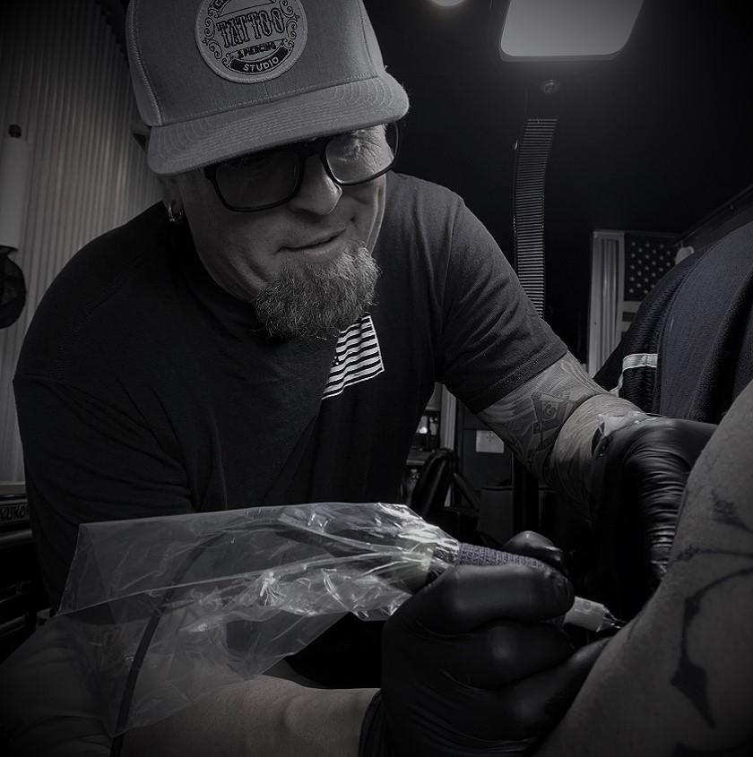 James is a Tattoo Artist at Crossroads Tattoo Studio in Denison, TX
