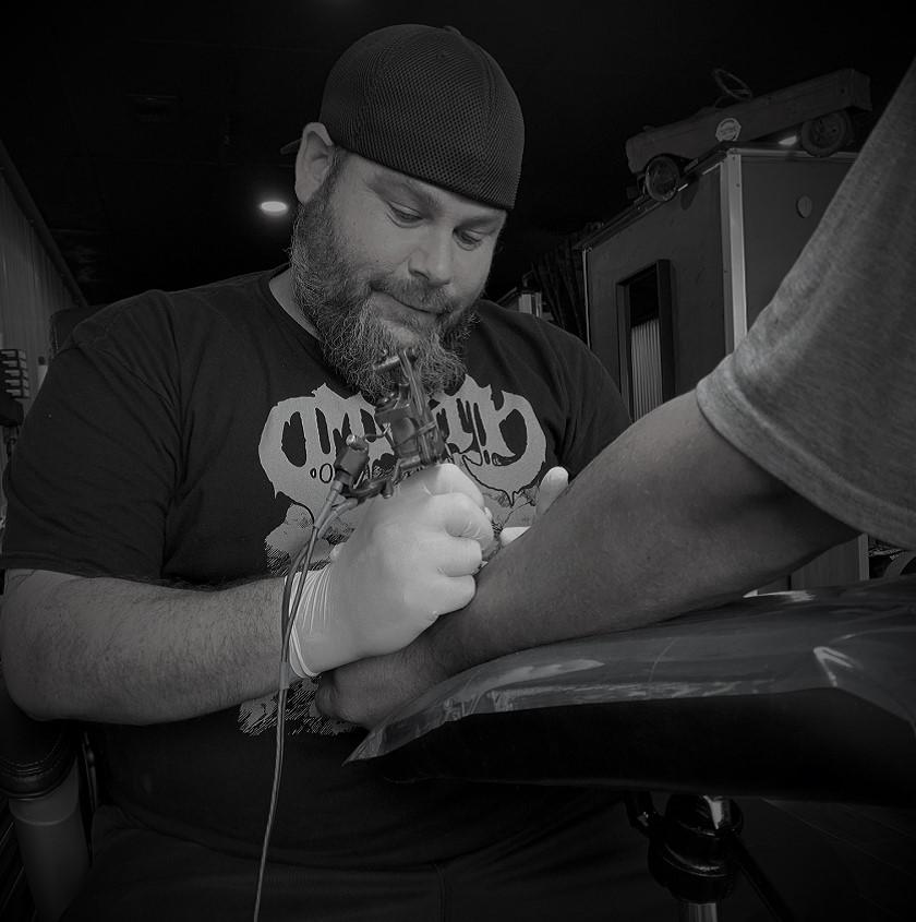 JC is a Tattoo Artist at Crossroads Tattoo Studio in Denison, TX