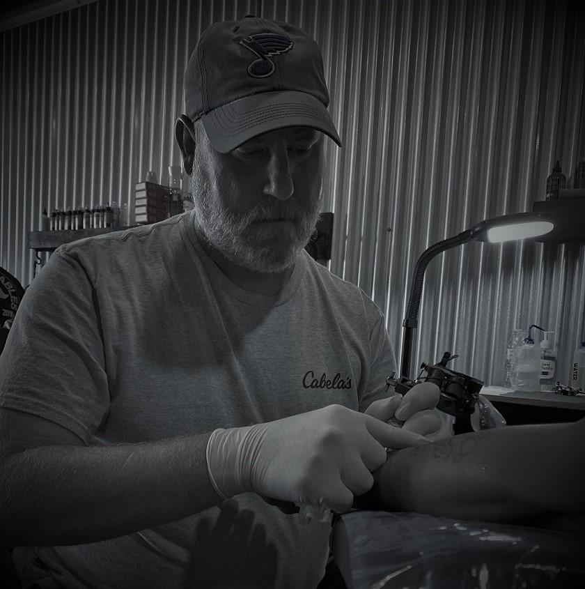 Rob is a Tattoo Artist at Crossroads Tattoo Studio in Denison, TX