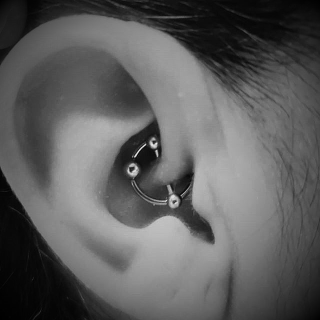 Daith Piercings at Crossroads Tattoo Studio in Denison, TX