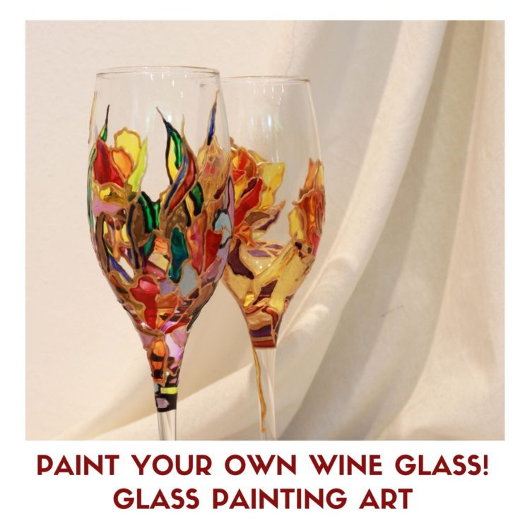 Glass Painting Art
