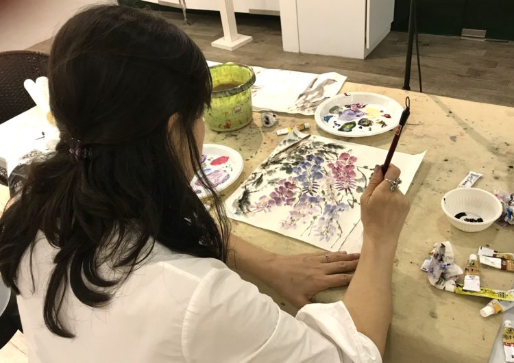 Visual_arts_centre_exterior_art_courses_chinese_ink_painting_acrylic_watercolour_drawing_sketching