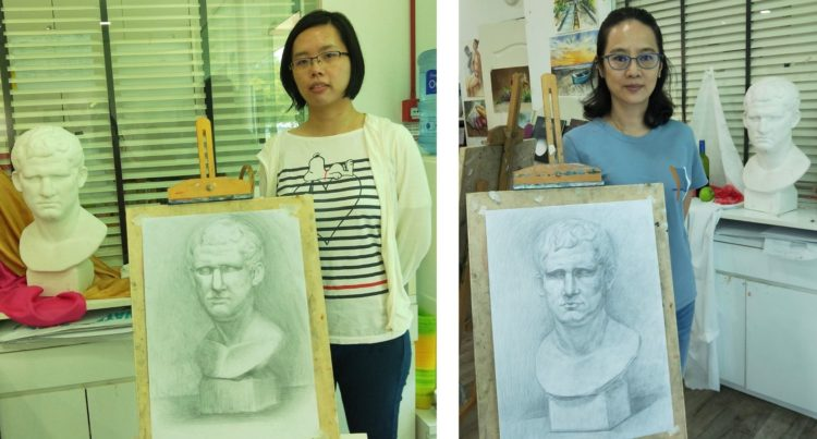 visual_arts_centre_DRAWING_AND_SKETCHING_plaster_cast