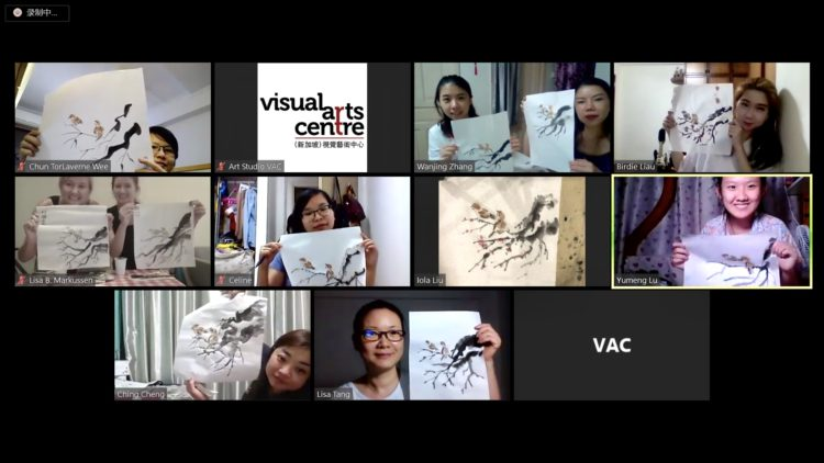 chinese ink painting zoom lesson