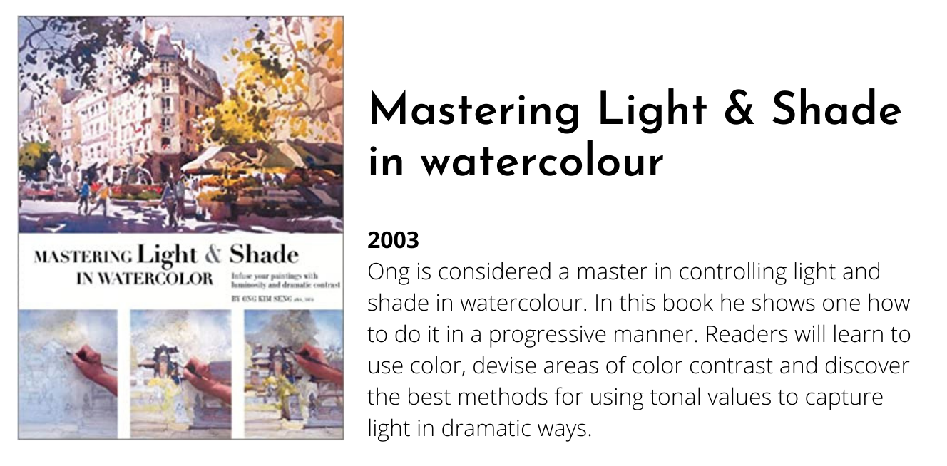 ong kim seng watercolour book