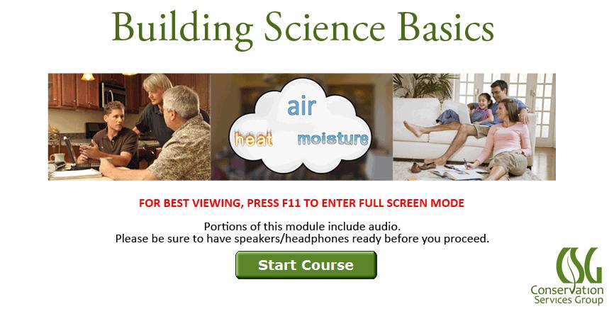 Building Science Basics