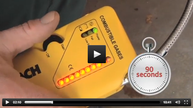 Gas Leak Detection Video