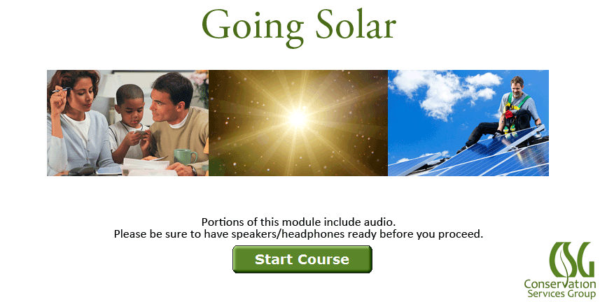 Going Solar (NYSERDA)