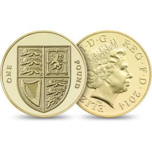 QEII 2014 One Pound