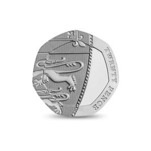 QEII 2014 Twenty Pence Reverse
