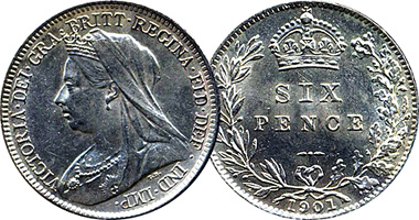 Victoria OH Six Pence