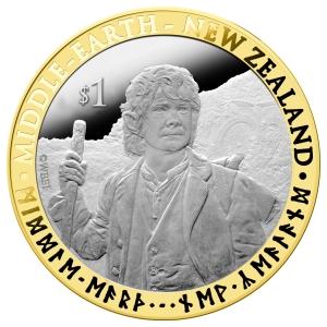 2012 Hobbit $1 Bimetallic