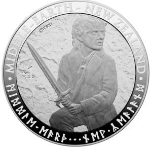2012 Hobbit $1 Silver