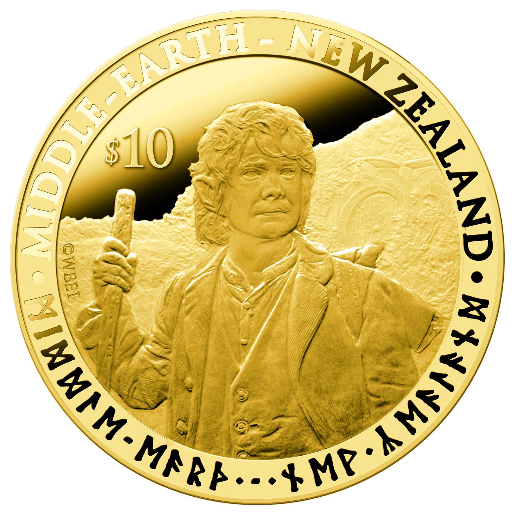 The Hobbit Coins of Sherlock's Freeman and Cumberbatch