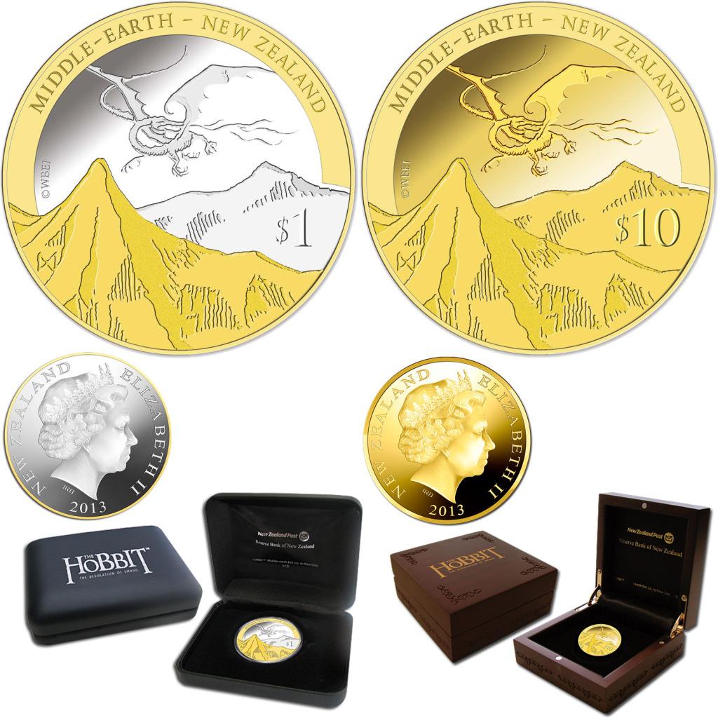 2013 Hobbit Coins