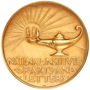 Gold Medal of The National Institute of Art and Letters Rev