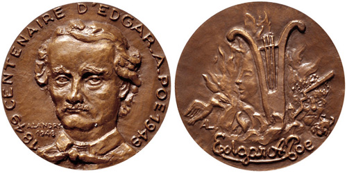 Charlotte Cushman Medallic Art Hall of Fame for Great